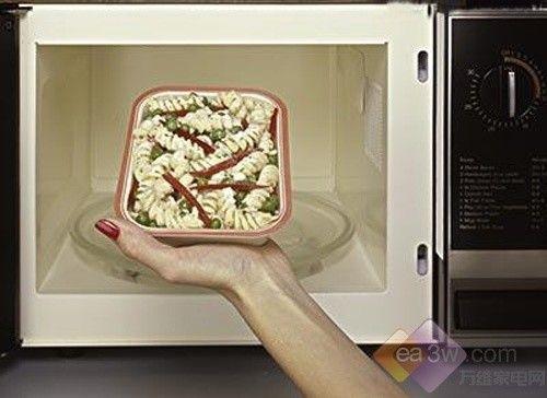 微波炉加热食品小窍门