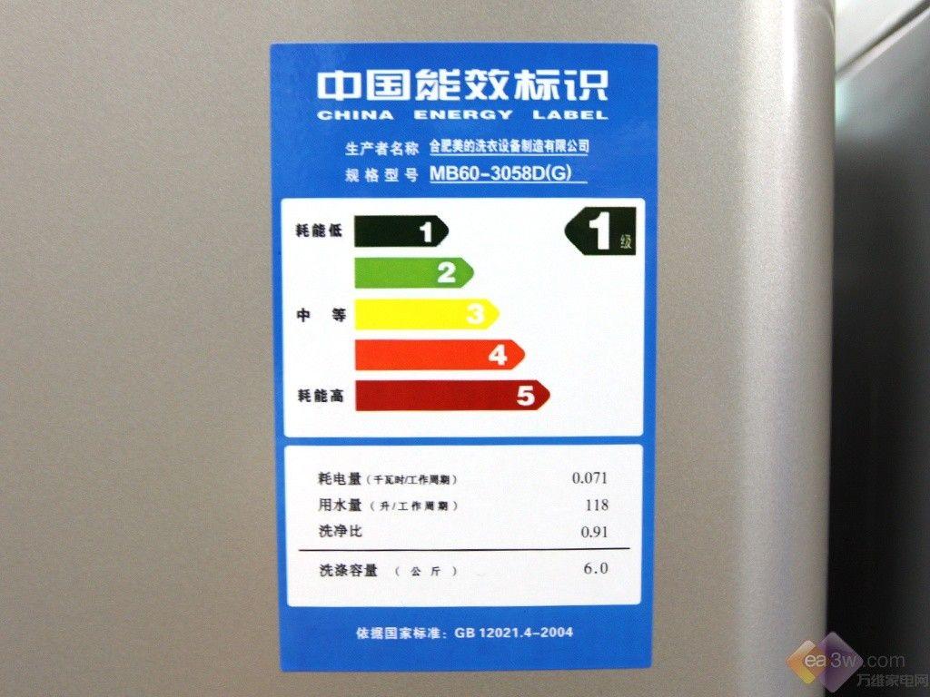 波轮洗衣机_能效标识解析:家电低碳要有真凭实据 —万维家电网