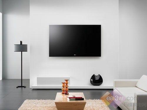 留白风格:lg sl90系无边框超薄电视_惊艳!与各类电视.