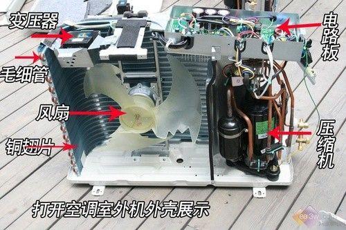 谁有偷工减料?格力大金空调拆解对比