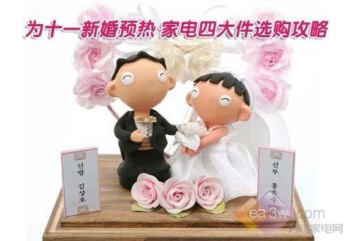 为十一新婚预热 家电四大件选购攻略