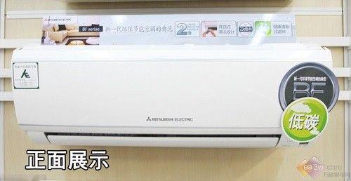 全新设计理念 三菱电机新品空调卖场评测