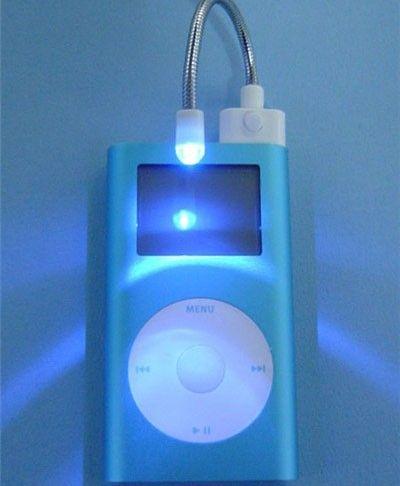 想用iPod当手电筒的BT大侠 你们赢了!】 —万维家电网