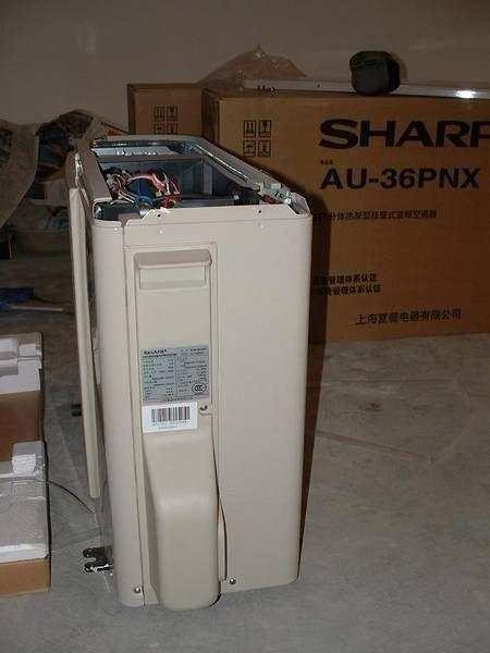 夏普空调kfr36外机接线图