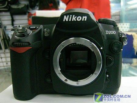 图为:尼康数码相机 D200-尼康 D200 尼康单反D200加18 200mm镜头