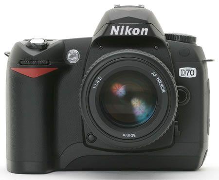 尼康D70数码单反相机-D70也变D70s 尼康升级固件刺激老用户