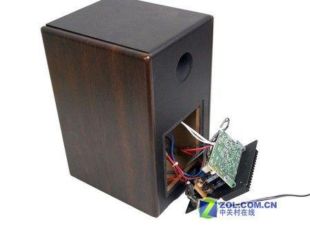 晶体管放大器为仙童的tip41c和tip42c,总的输出功率达到了100w