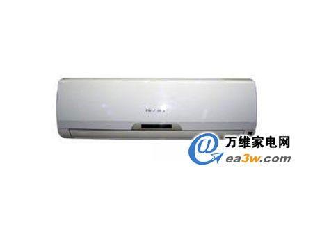 海信kfr-26gw/77vzbp空调采用白色的外壳,造型圆润光滑,dled显示屏