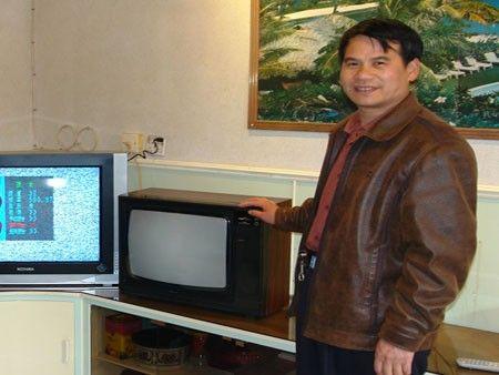 """康佳""""古董级""""电视; 使用20年""""古董级""""康佳彩电现身"""