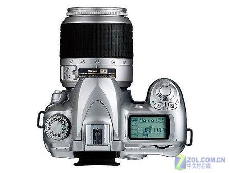 图为:尼康数码单反相机 D50-数量有限 尼康D50套机抢购价不到五千