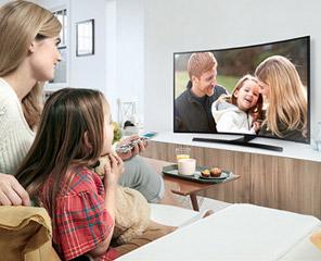 盘点那些令人惊艳的曲面电视