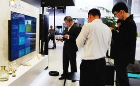 IFA2018:海尔智慧客厅成套场景互联互通展示