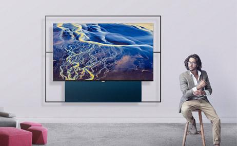艺术与科技的碰撞,XESS浮窗全场景TV 65A100T评测