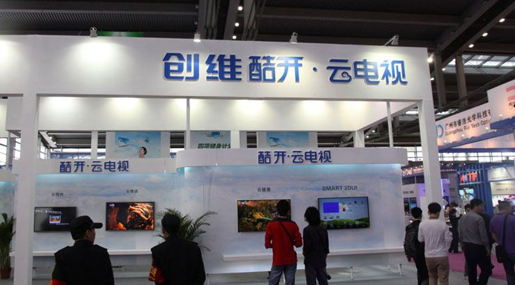 直击2012CCEF:探秘创维电视新品展区