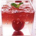 钻石红酒冻