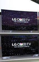 弧形OLED电视