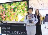 三星110英寸JHD TV