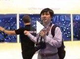 LG智能电视雪花与人互动