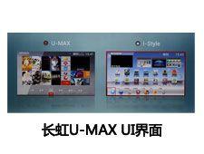 长虹U-MAX UI界面