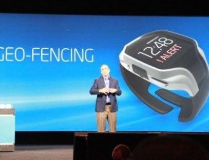 可以打电话 Intel智能手表亮相