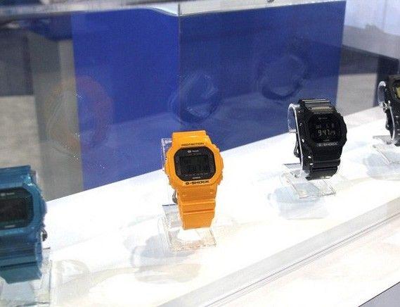 卡西欧CES展最新蓝牙手表