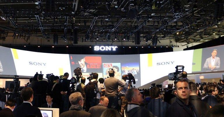打造新视听 索尼CES 2015四类新品揭幕