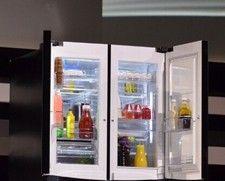 LG首款双门中门冰箱曝光