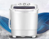 3KG双桶迷你洗衣机