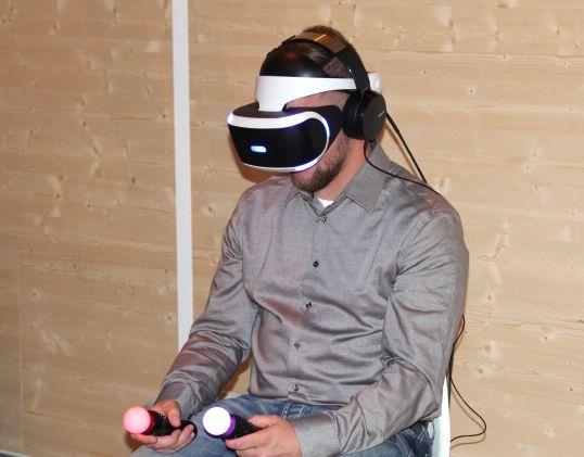 索尼VR带你畅游虚拟世界