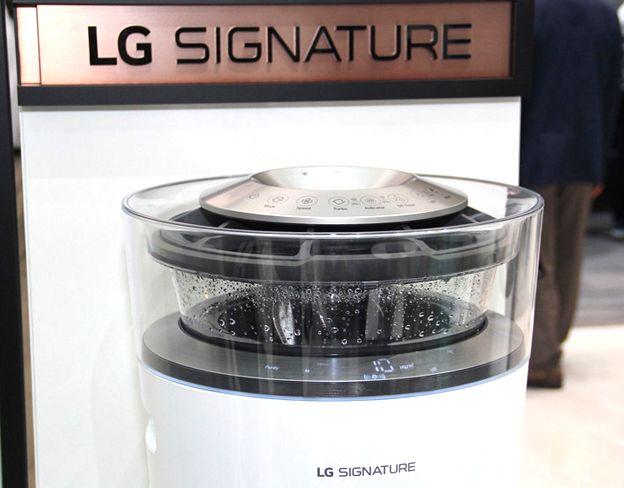 LG展未来派空气净化器