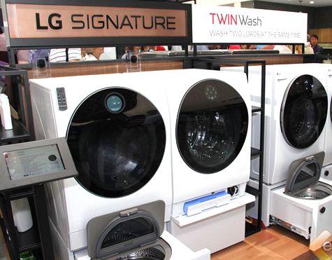 LG双擎洗衣机一机两筒