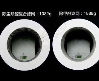滤网重量对比