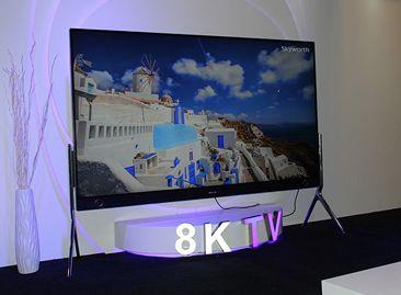 创维98寸8K电视亮相CES
