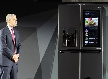 LG发SMART INSTAVIEW冰箱