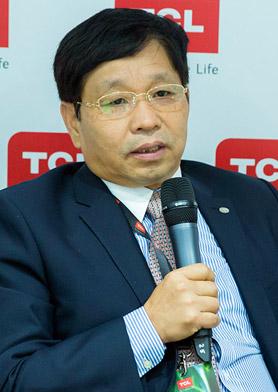 TCL家电集团CEO 李书彬