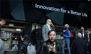 CES2018视频直击LG人工智能ThinQ亮相发力OLED