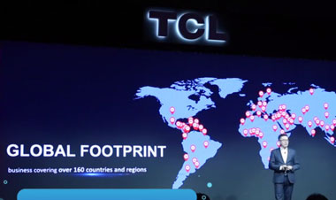 CES2018视频直击TCL北美挺进前三G11更见未来
