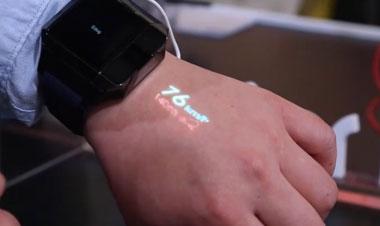 CES视频直击:海尔新黑科技,全球首款投影手表曝光