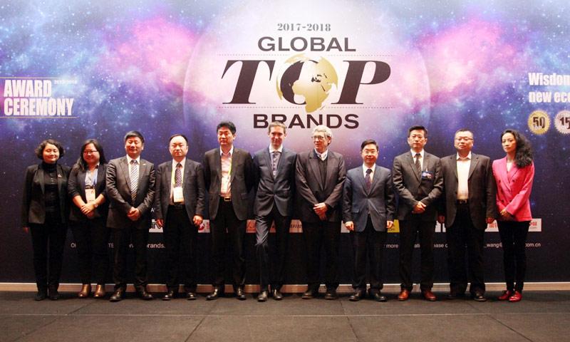 Global Top brands榜单发布,中国军团斩获多项大奖
