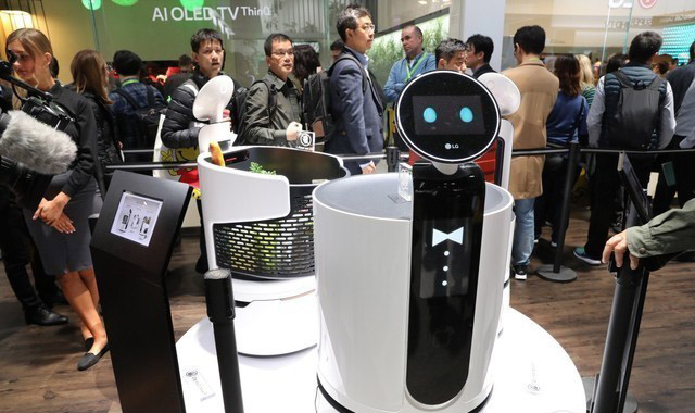 LG智能机器人
