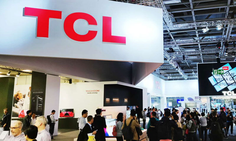 IFA 2018:TCL澳门博彩官网现场图赏
