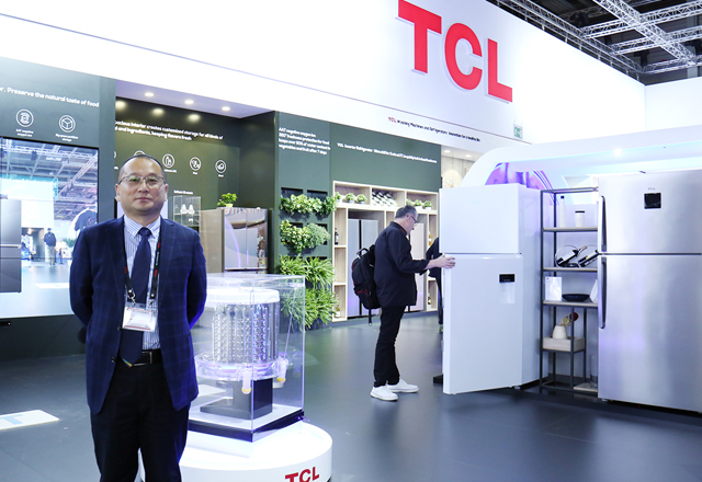 IFA专访王显举:2018年TCL冰洗目标将突破450万台