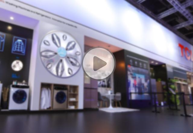 TCL冰箱洗衣机展台视频报道