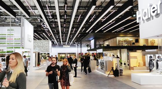 IFA2018,海尔家电展区