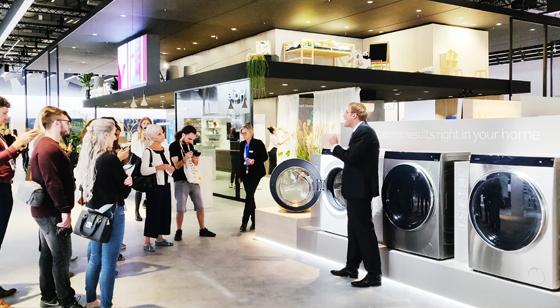 IFA 2018,海尔洗衣机展区