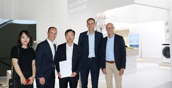 2018IFA:德国汉高加入海尔衣联生态