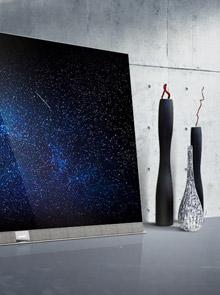 <span>创维S9系OLED电视<br/> 全面屏|变色龙AI芯片|OLED像素控光<em>售价:15999</em></span>