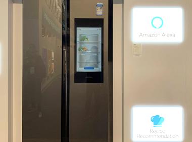 海尔智慧厨房里的馨厨冰箱