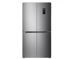TCL480升双变频十字对开多门冰箱