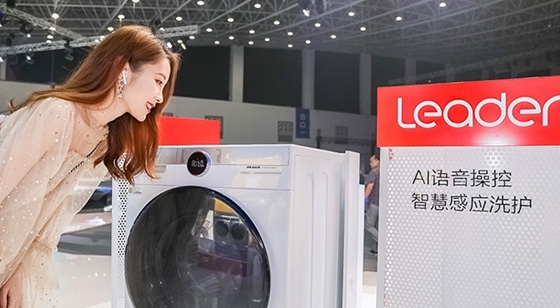 Leader快乐小鸡优等声智能AI洗衣机